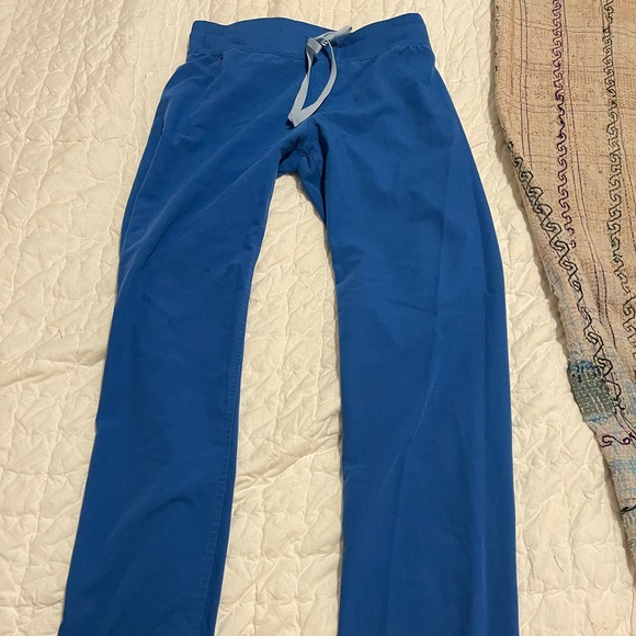 Fig scrub pants royal color